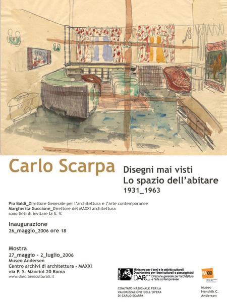 Lithospedia architettura di pietra for Carlo scarpa biografia