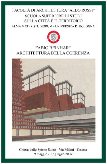 Fabio Reinhart Architettura Come Pensiero Journal