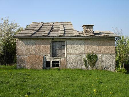 Le coperture di pietra degli edifici tradizionali della Lessinia