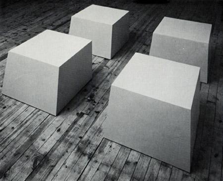 Spazi dedalicii labirinti di robert morris tra realt for Oeuvre minimaliste
